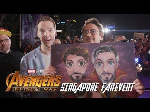 'Avengers: Infinity War' Singapore Fan Event