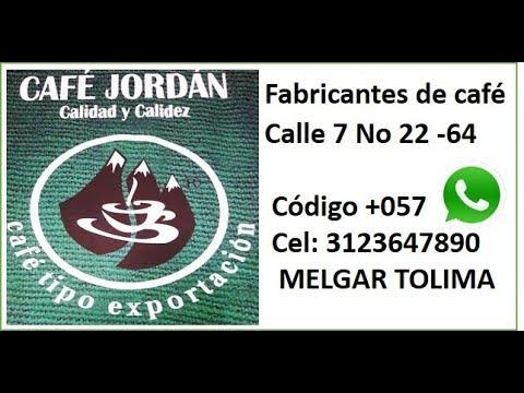 Cafe Jordan en Melgar Tolima