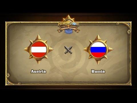 Австрия vs Россия | Austria vs Russia | Hearthstone Global Games (16.05.2017)