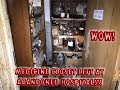 (CRAZY) MEDICINE CLOSET LEFT AT ABANDONED HOSPITAL (WOW)