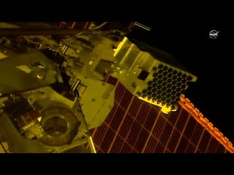 Neutron Star Explorer Gets Installed on the Space Station