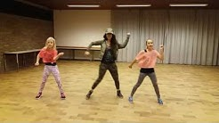 "Zumba for kids Clean Bandit ""Rockabye baby"""