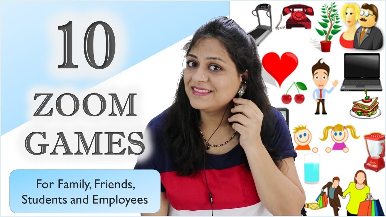 10 Fun Games To Play On Zoom Indoor Games For Friends And Family Zoom Games To Play With Friends Youtube