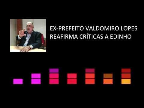 Ex-prefeito Valdomiro Lopes Rebate Edinho