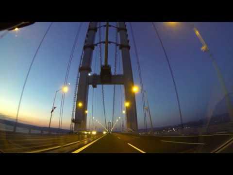 Osman Gazi Bridge Night GoPro