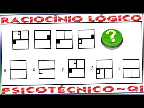 Curso de Raciocínio Lógico Teste Psicotécnico e psicológico Raciocínio abstrato Figuras geométricas de YouTube · Duração:  3 minutos 7 segundos