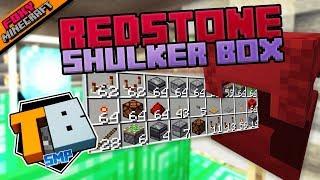 REDSTONE SHULKER BOX | Truly Bedrock [1-14] | Minecraft Bedrock Edition SMP (MCBE)
