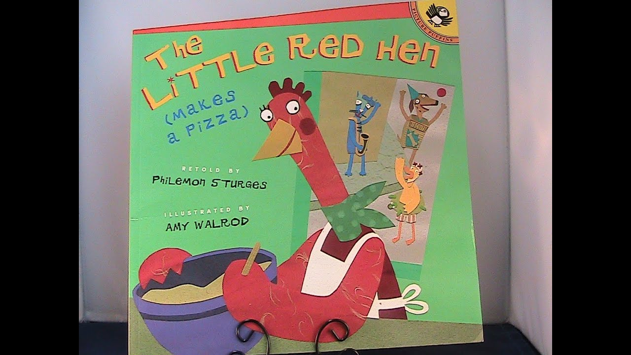 The Little Red Hen (makes a Pizza) Book review by Reading Children's Books - YouTube