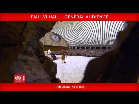 Pope Francis - General Audience 2020-01-29