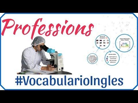 Vocabulario de las profesiones y ocupaciones en inglés con imágenes. Oficios inglés y español # 2