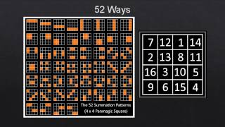 The magic, myth and math of magic squares | Michael Daniels | TEDxDouglas