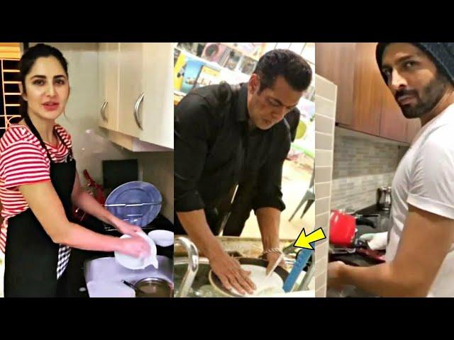 Bollywood Top Celebs Cook Food in Self Isolation - Salman Khan I Katrina I Akshay