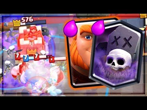 Clash Royale - GRAVEYARD MADNESS! Meta Deck