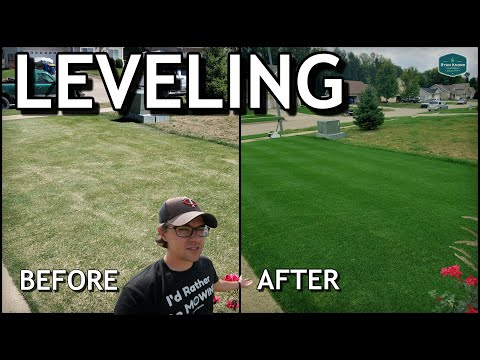 LAWN Leveling RESULTS In Just 8 Days...