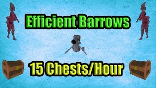 Barrows With Cannon + 100 Chests : Efficient Barrows Guide 13-15 Chests/H OSRS 2007