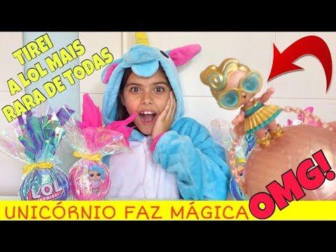 ABRINDO LOL MAIS RARA DE TODAS! 24K DE OURO! LUXE LOL DOLL | NICOLE DUMER