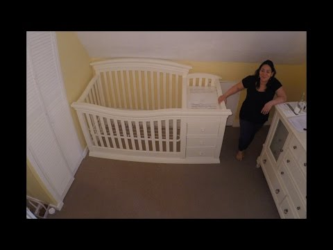 Baby Crib Assembly Time Lapse - Sorelle Verona 4-in-1