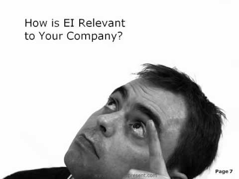 Emotional Intelligence PowerPoint Content