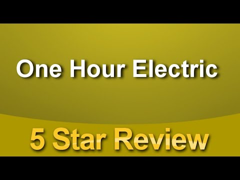 One Hour Electric | Las Vegas Electrician | Las Vegas Electrical Contractor