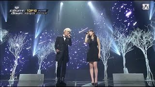 [140227] Taeyeon & Jonghyun - Breath , M! Countdown