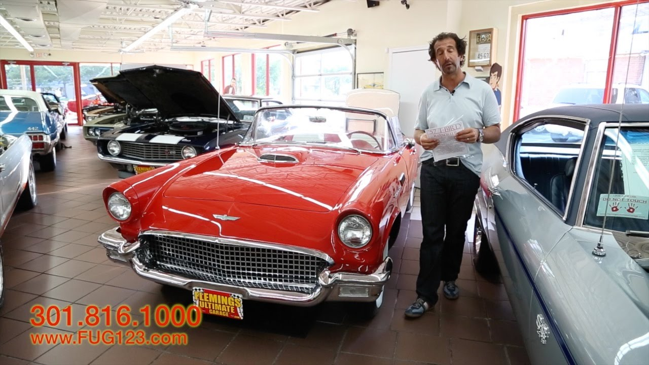 1957 ford thunderbird roadster for sale with test drive
