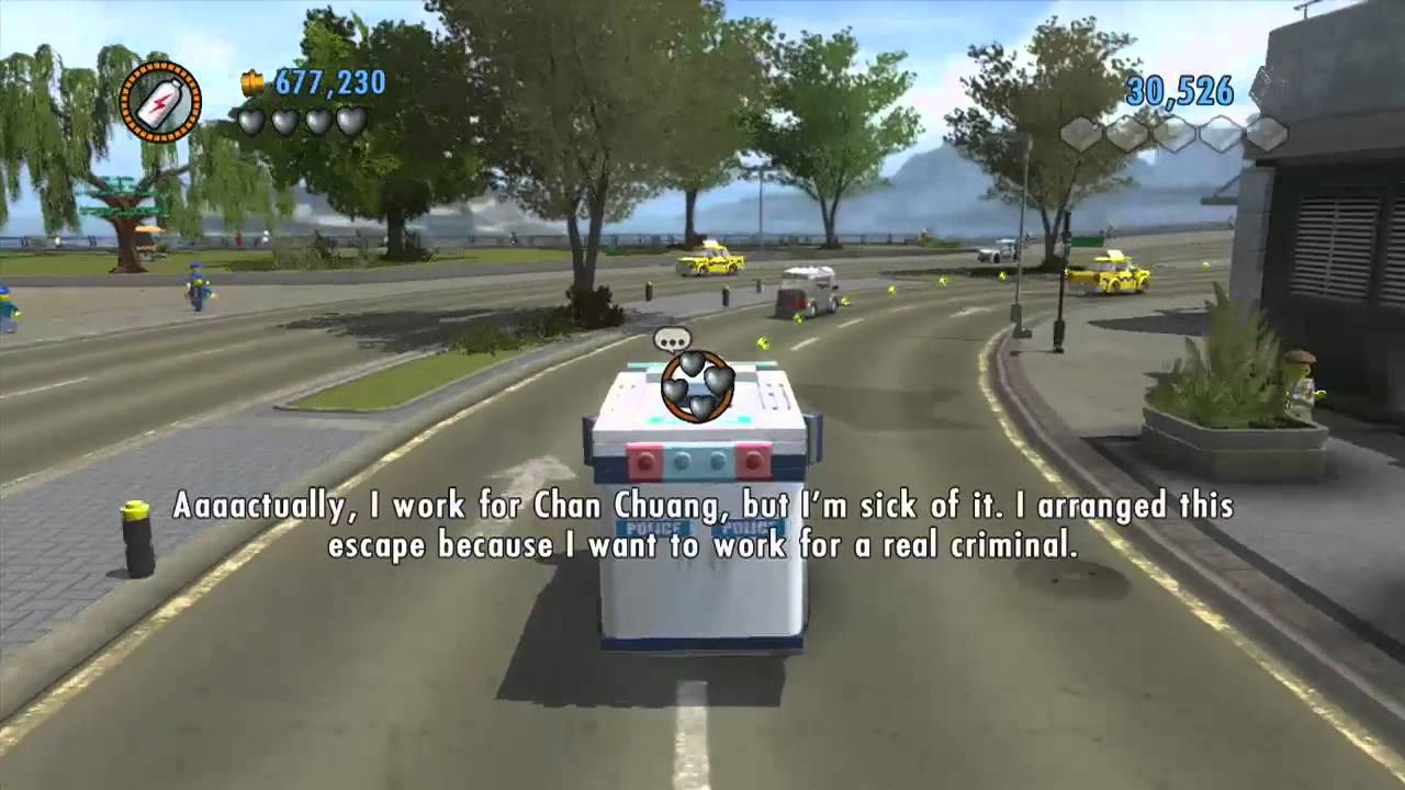 Youtube Lego City Undercover Cars