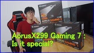Unboxing - Mở hộp Gigabyte Aorus X299 Gaming 7 (Video 4k )