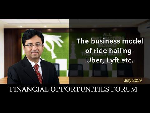 The business model of ride hailing - Uber, Lyft etc.