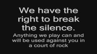 Lordi - Rock Police (lyrics) HD