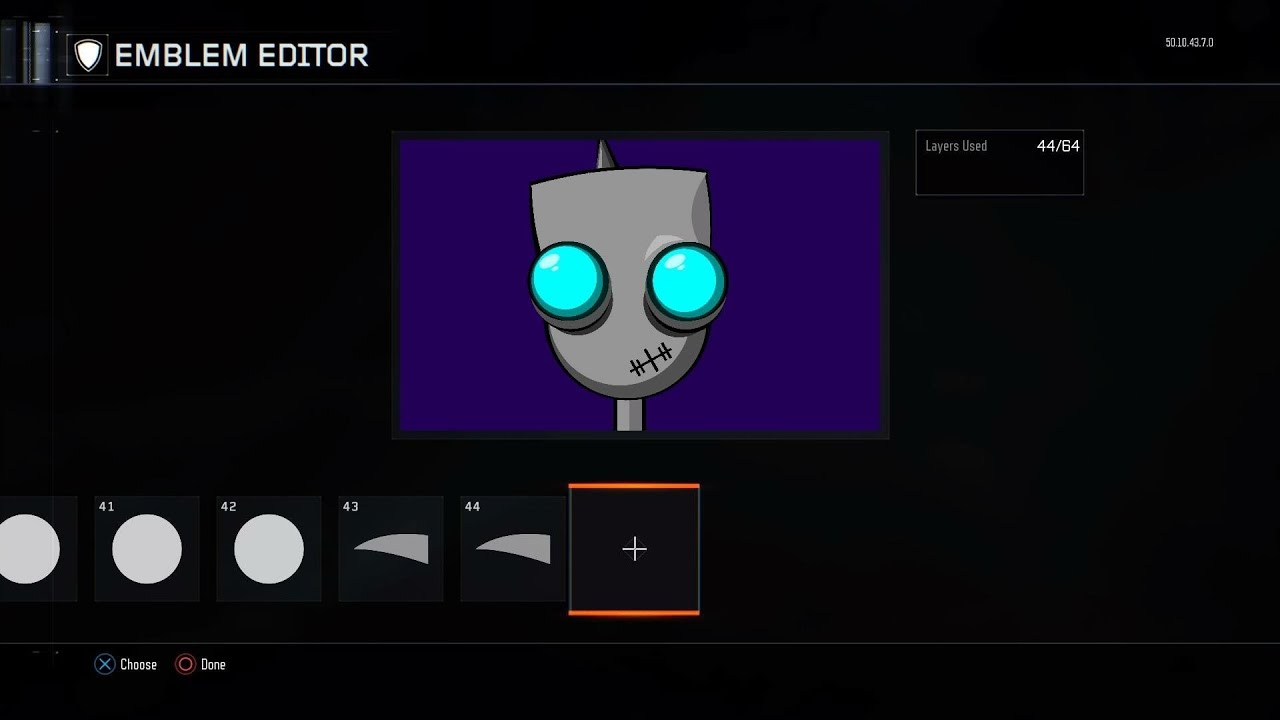 Black Ops 3 Invader Zim Emblem Tutorial