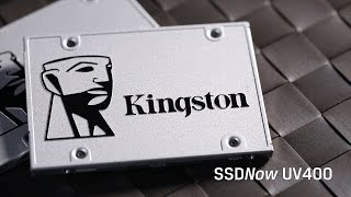 Upgrade SSD to SSDNow UV400 from Kingston Technology