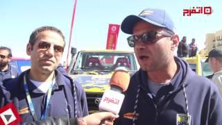 الأخوان «أمينو براذرز» المركز الثالث في سباقات رالي الجونة