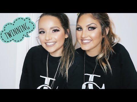TWINNING!! Annie's Makeover Gone Wild   Paige Danielle