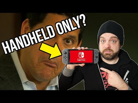 Handheld ONLY Nintendo Switch Coming in 2019? | RGT 85