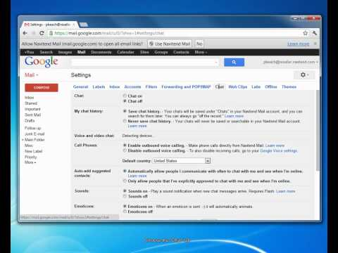 Disable Chat In Google Apps Or Gmail