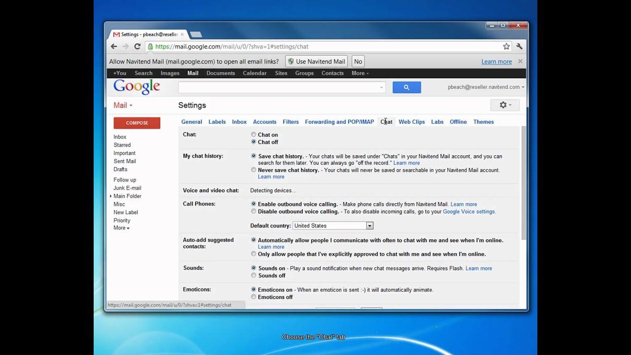 Chức năng Và phương pháp Tắt Google Meet Trong Gmail