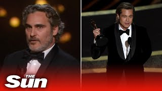 Oscars highlights - outstanding moments from the 2020 Academy Awards