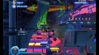 Sonic Colors Wii Прохождение / Walkthrough part 3