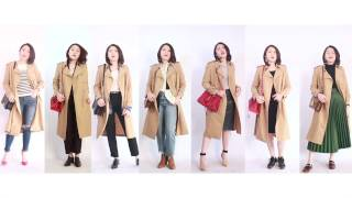 【BING.J】风衣的7种最基础搭配守则(7 basic collocation ways of trench coat)