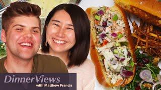 What's Rie McClenny's DREAM Dinner? | DinnerViews S2 Ep #13