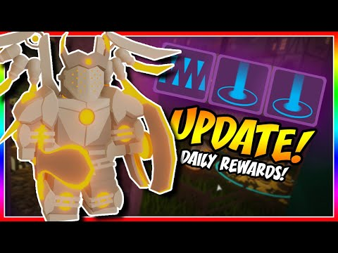 Download DQ UPDATE - DAILY REWARDS + MORE! | Dungeon Quest [Roblox]