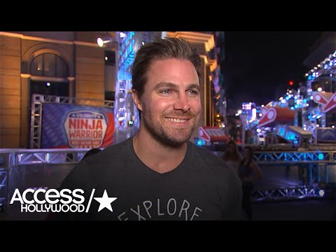 Stephen Amell Talks Competing On 'American Ninja Warrior': 'I'm Excited!' | Access Hollywood