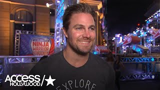 Stephen Amell Talks Competing On