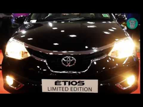 Toyota Etios VXD 2018 (Platinum Limited Edition) Exterior and Interior