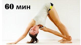 Виньяса йога для спины | Уровень 1-2(Виньяса йога для спины, занятие 60 минут, рассчитано на людей знающих и чувствующих свое тело, способных..., 2016-01-29T02:36:28.000Z)