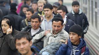 Мигранты массово возвращаются домой