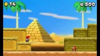 3DS Capture Test New Super Mario Bros 2 Starman Run!