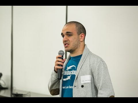 Arman Agaronyan, Sales Engineer Spinbackup pitch @ICO panel