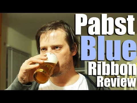 Pabst Blue Ribbon Beer Review and Lifestyle Video