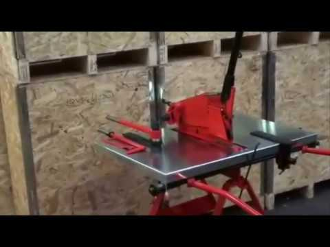Sheet metal cutting and bending Machines